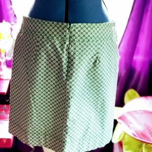 Talbots Size 16 Print Skirt Pre-owned